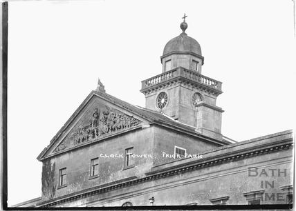 Prior Park, Clock tower, c.1920s