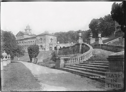 Prior Park viewed from the steps c.1920s