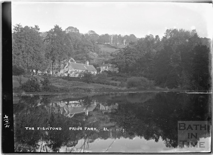 The Fishpond & Cottage, Prior Park No.21, 30 April 1921 c.1921