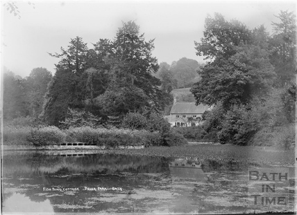 Fishpond Cottage, Prior Park c.1921