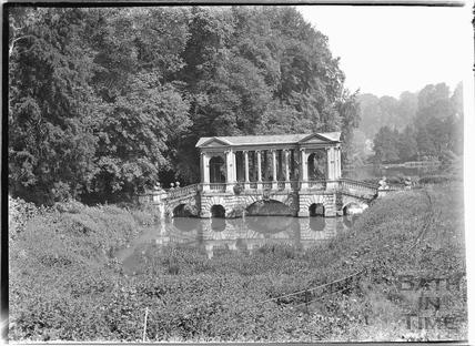 The Palladian Bridge, Prior Park c.1920s