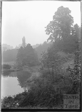 The lake, thought to be, Prior Park c.1920s