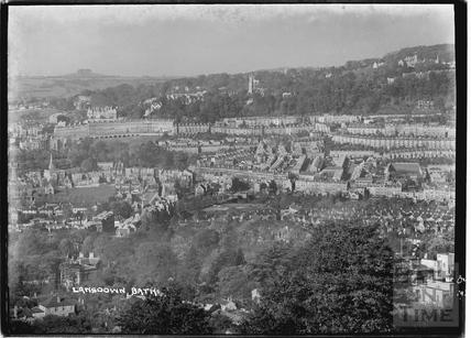 View of Lansdown Oct 1934