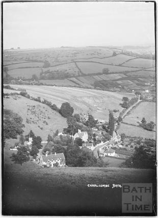 View of Charlcombe c.1934