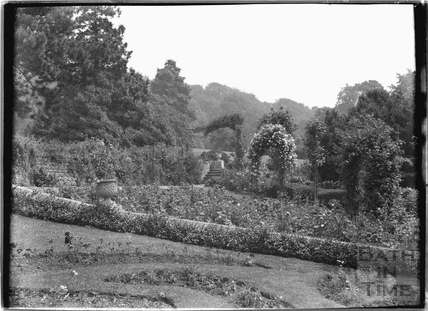 The Gardens, Warleigh Manor c.1907