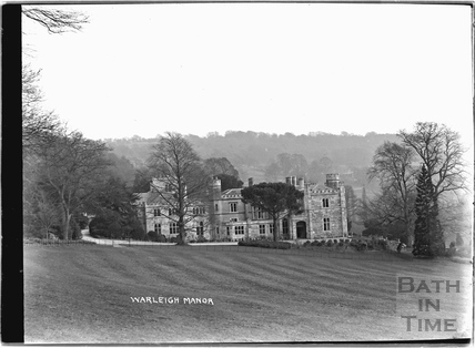 Warleigh Manor c.1932