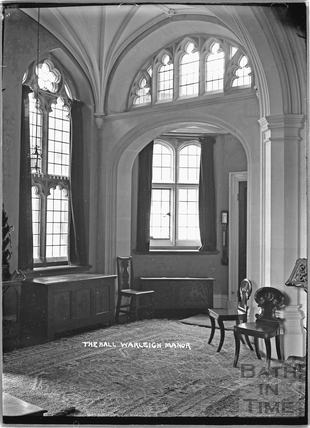 The Hall Warleigh Manor c.1932