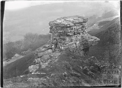 The Devil's Table, Hampton Rocks, Bathampton Down c.1920