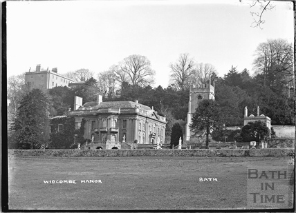 Widcombe Manor and Church, 1921