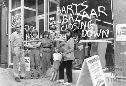 Barts Bazaar, Bartlett Street 1985