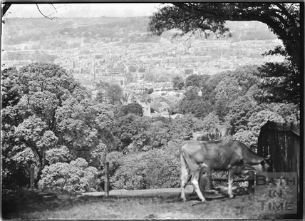 View of Bath from Monument Field c.1920s