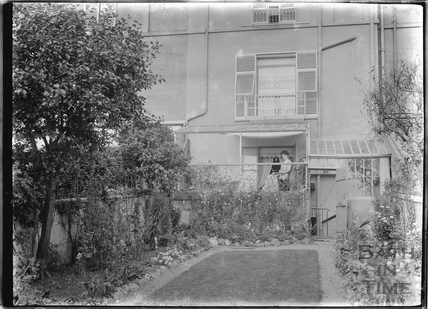 Rear Garden, thought to be Sydney Buildings c.1910