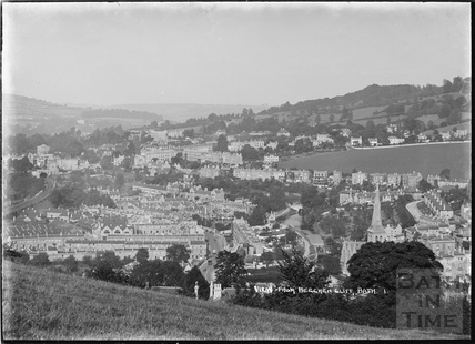 View of Bathwick from Beechen Cliff No.1 c.1920s