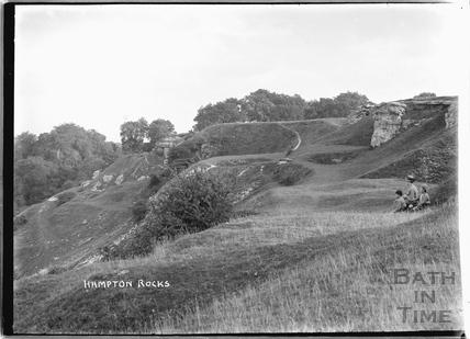 Hampton Rocks, Bathampton Down c.1920