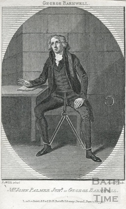 John Palmer Jr c.1742-1798, actor as George Barnwell 1792