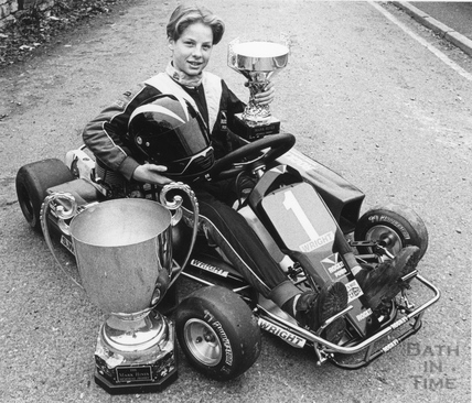 A young Jenson Button kart star aged 12, 29 Dec 1992
