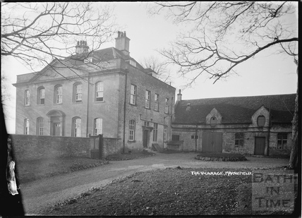 Marshfield Vicarage, 21 Nov 1936