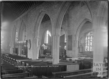 Marshfield Church, looking south east, 21 Nov 1936