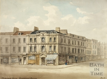 Rosewell House, Kingsmead Square c.1840?