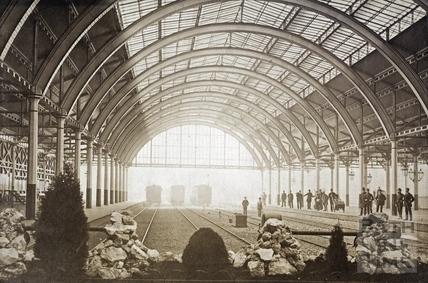 Green Park Station interior , c.1880