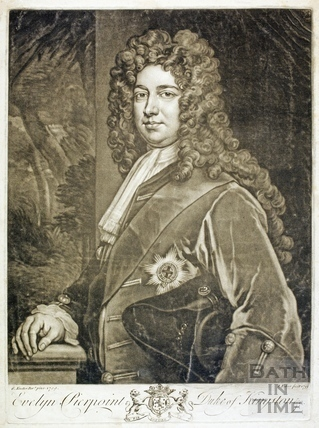 Evelyn Pierpoint, Duke of Kingston 1709