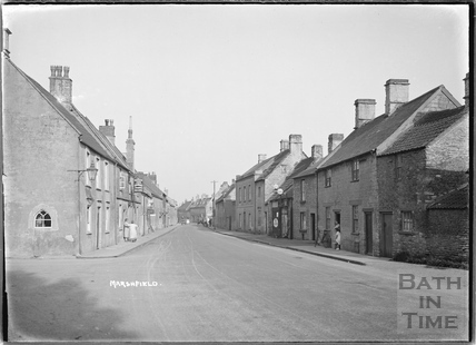 Marshfield High Street c.1936