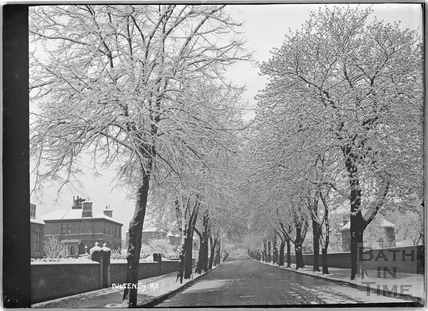 Pulteney Road in winter 25 April 1908