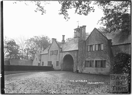 The clock house and stables, Shockerwick, c.1920s