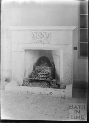 Hinton Priory, Hinton Charterhouse Interior 1934