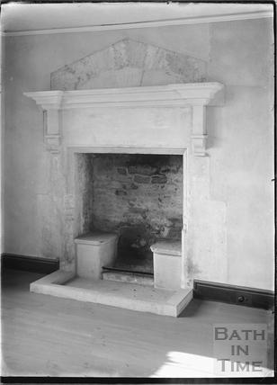 Hinton Priory, Hinton Charterhouse Interior 1934