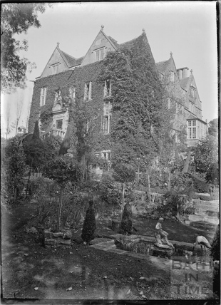 Cheney Court and garden c.1920s