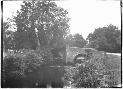 The bridge at Iford c.1920s