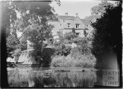 Iford Manor, viewed across the brook, c.1920s