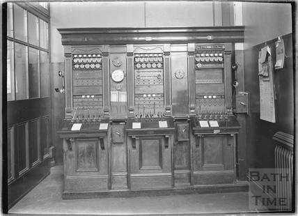 The telegraph office, Bath Post Office, New Bond Street c.1920s