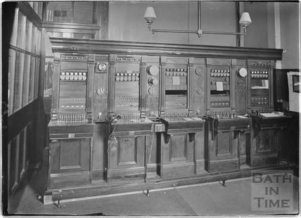The telegraph office, Bath Post Office, New Bond Street c.1920s