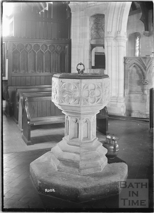 Font, Christ Church, Rode c.1935