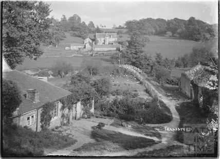 View of Tellisford packhorse bridge c.1920s