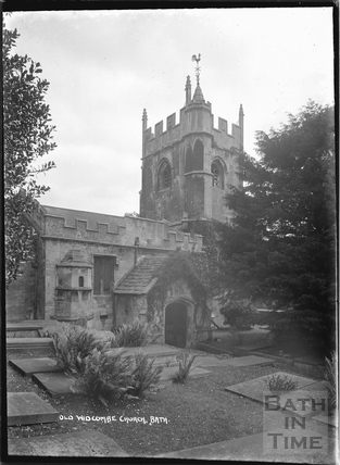 Old Widcombe Church, c.1920s