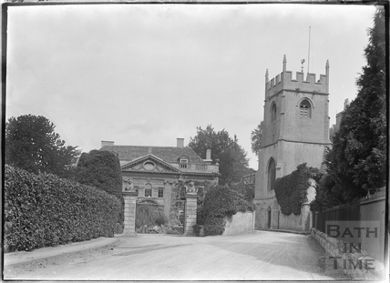 Widcombe Manor and Church c.1920s