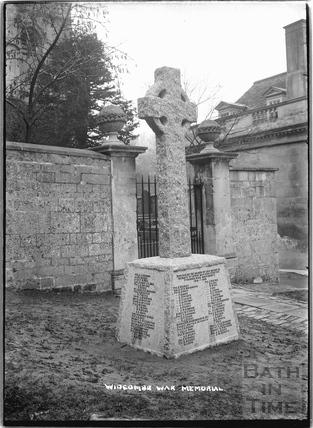 Widcombe War Memorial, c.1920s