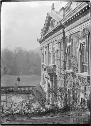 Widcombe Manor viewed obliquely c.1920s