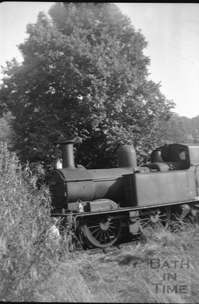 Train No1401, Monkton Combe 1952