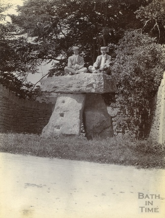 The Three Shires Stones, Bannerdown, Batheaston c.1890s