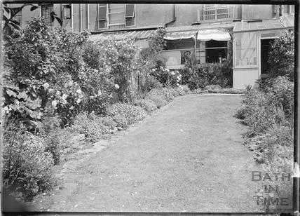 Back Garden, 32 Sydney Buildings c.1920s