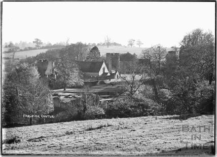 View of Farleigh Castle, Farleigh Hungerford, c.1931