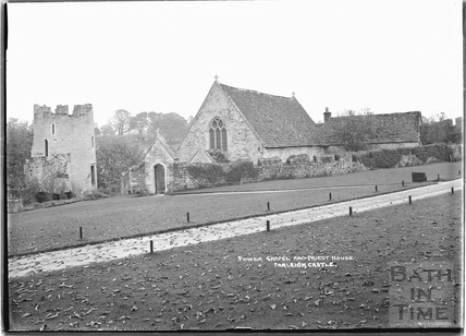 Tower Chapel and Priests House, Farleigh Castle, Farleigh Hungerford, c.1931