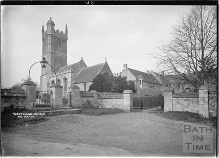 Westwood church and Manor, March 1937