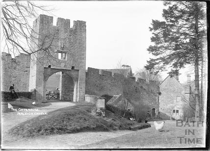 The Gatehouse, Farleigh Castle, Farleigh Hungerford, c.1920s