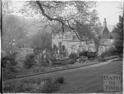 Iford Manor, see from the gardens c.1930s