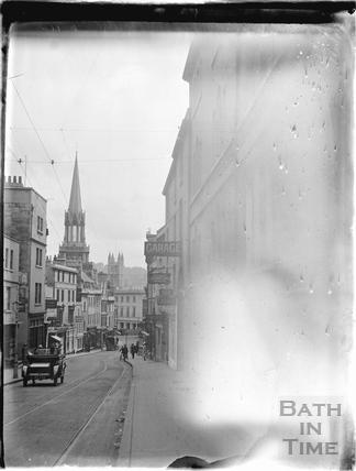 Looking down Broad Street c.1930s
